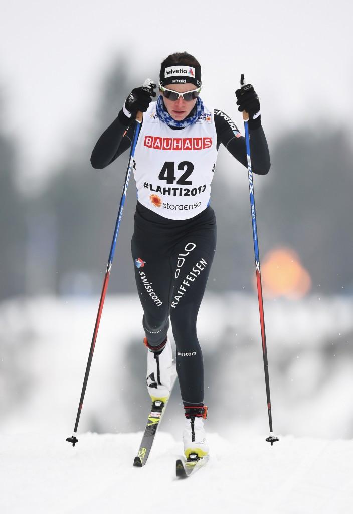 Nathalie von Siebenthal will be one of the athletes Peter von Allmen works with ©Getty Images