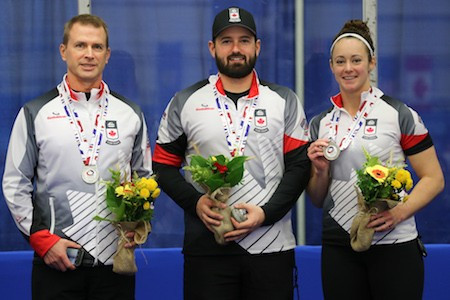 Canada won World Championship silver in Lethbridge last month ©WCF