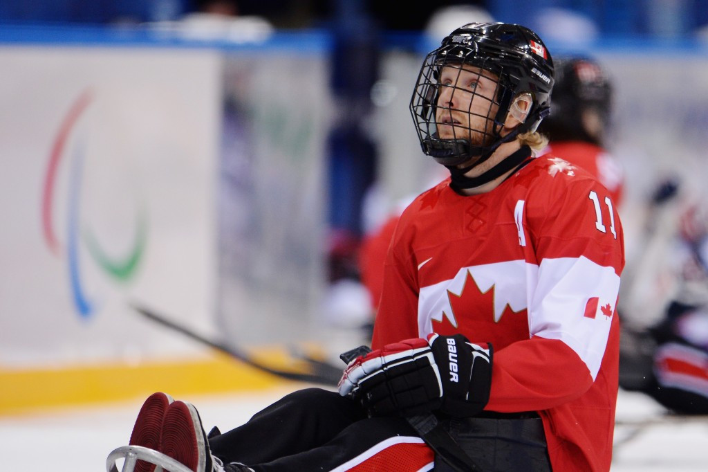 Adam Dixon is one of two ice hockey players shortlisted for the award ©Getty Images
