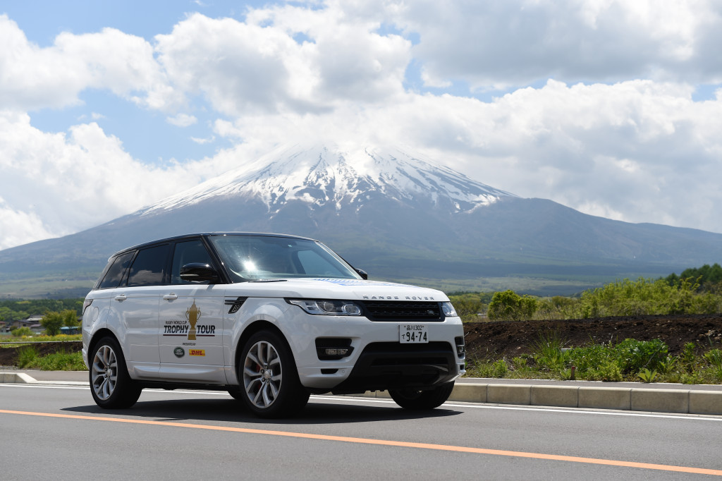 Land Rover renews worldwide partnership for 2019 Rugby World Cup