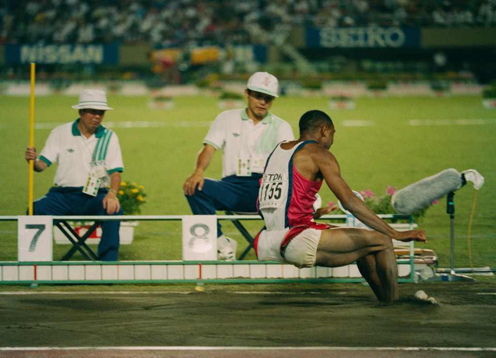 American long jump world record holder Mike Powell has criticised the proposals and threatened legal action ©Getty Images