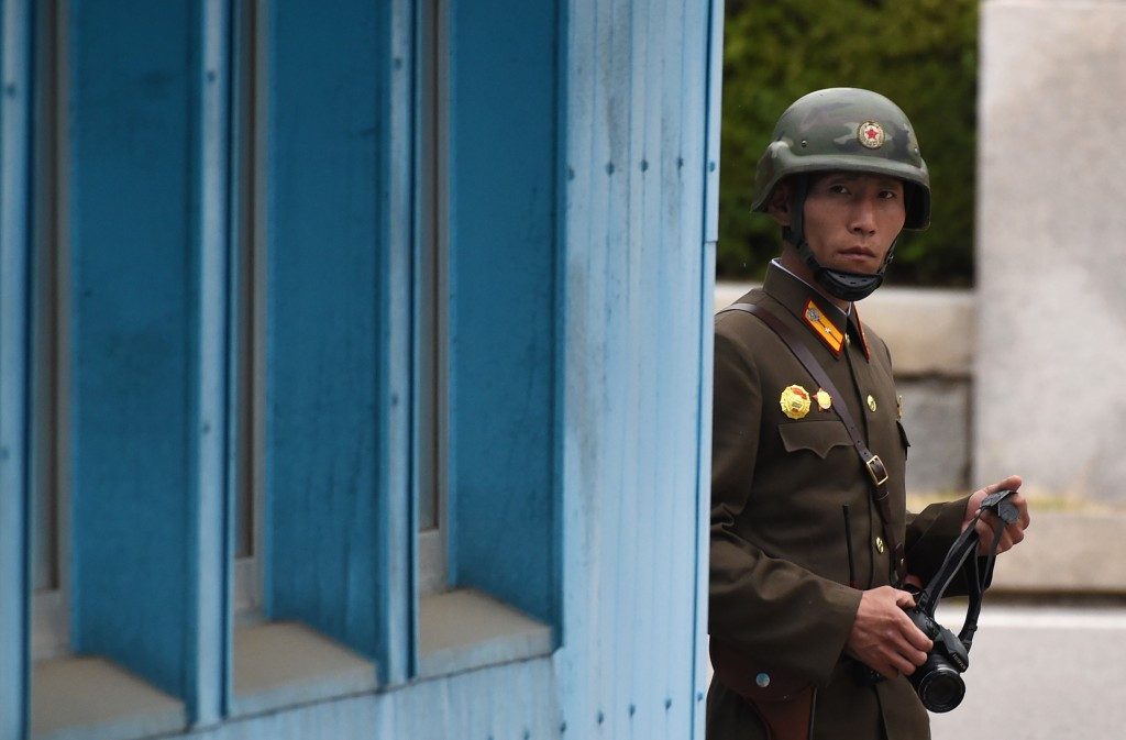 Tensions with North Korea have increased in recent weeks ©Getty Images