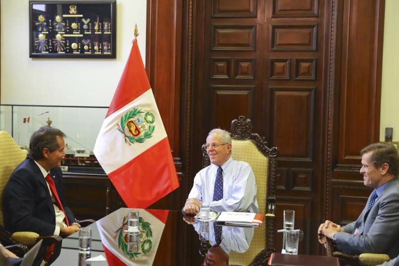 Crisis-hit Lima 2019 backed by Peru's President in meeting with Ilic