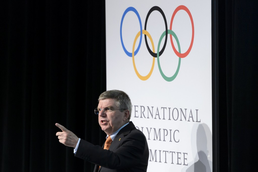 Thomas Bach criticised Italian officials when the bid for the 2020 Games was abandoned ©Getty Images