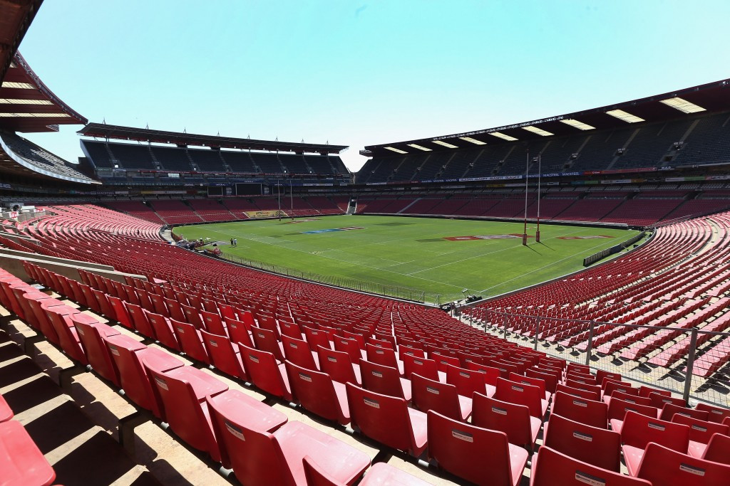 Ellis Park Stadium in Johannesburg is expected to host matches if South Africa win the 2023 Rugby World Cup ©Getty Images