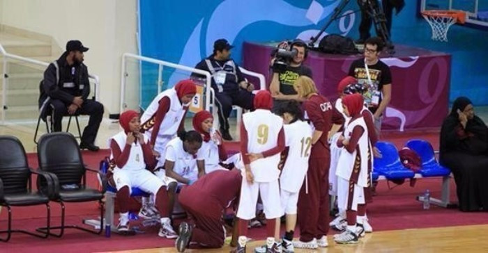 Qatar withdrew from the Incheon 2014 Asian Games due to the ban on wearing hijabs ©AFP/Getty Images