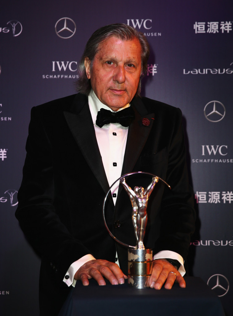 Ilie Nastase has been provisionally banned by the ITF following the incidents during the Fed Cup tie between Romania and Great Britain ©Getty Images