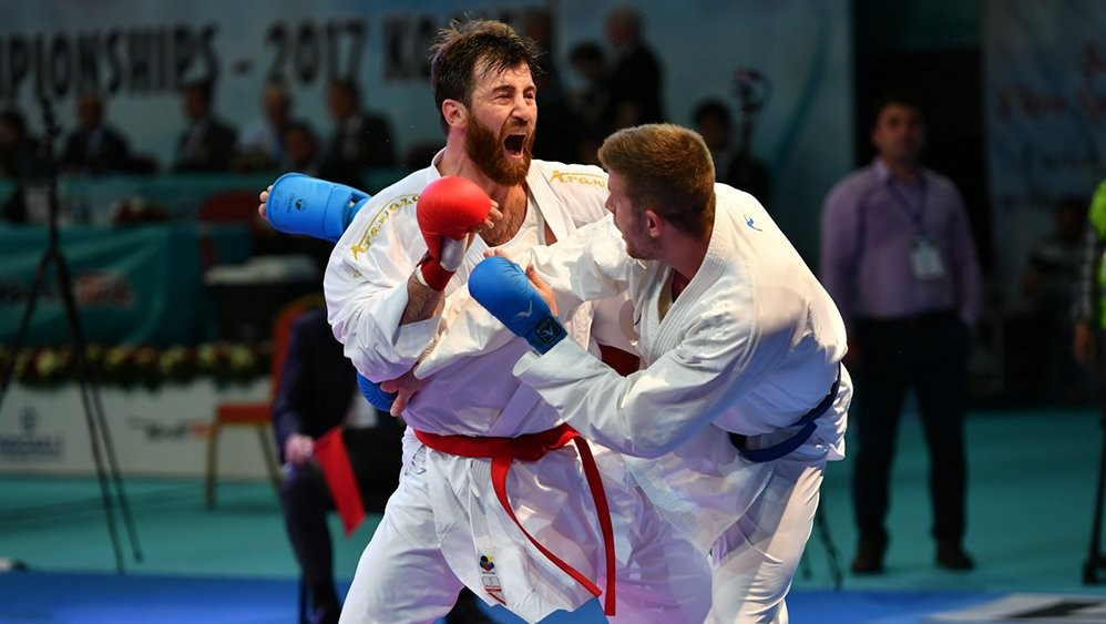 Hosts Turkey shine on opening day of European Karate Championships
