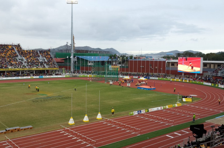 The fourth night of athletics was dominated by hosts Papua New Guinea who won eight out of the 14 gold medals available ©ITG