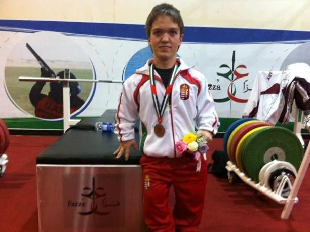 Tunkel claims Para Powerlifting World Cup victory on home soil in Eger