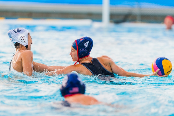 United States and Australia remain unbeaten at FINA women's Water Polo Intercontinental Tournament
