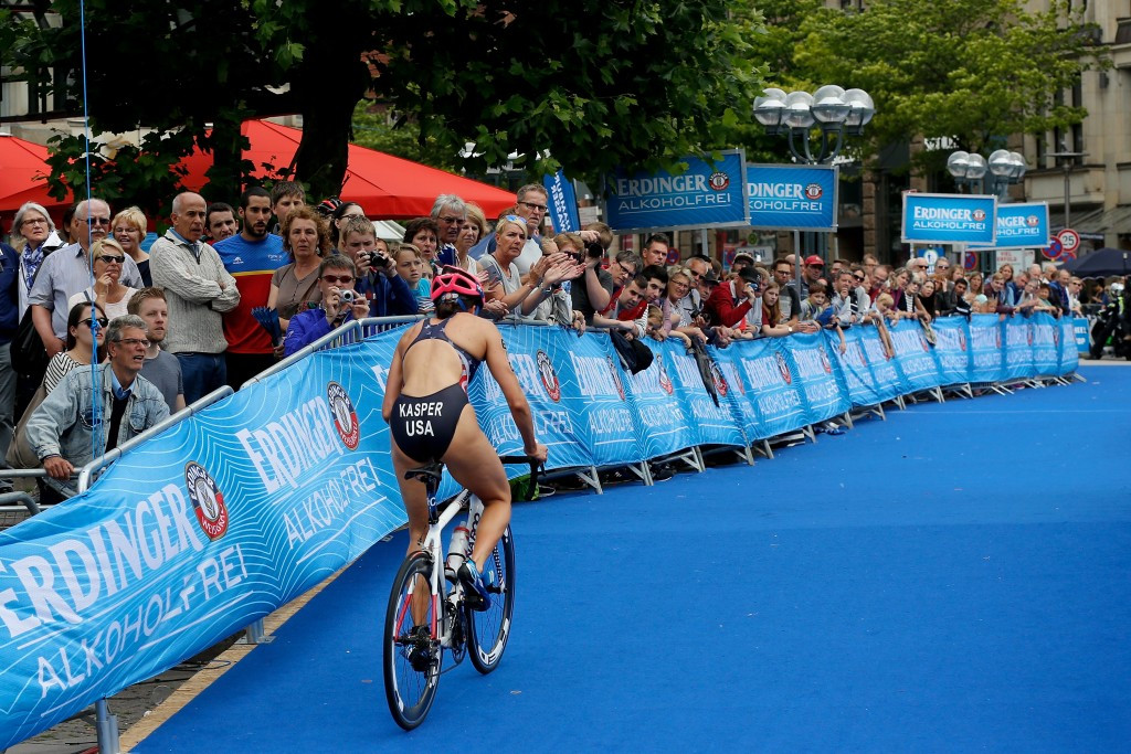 First ITU World Cup semi-final race of season taking place in China