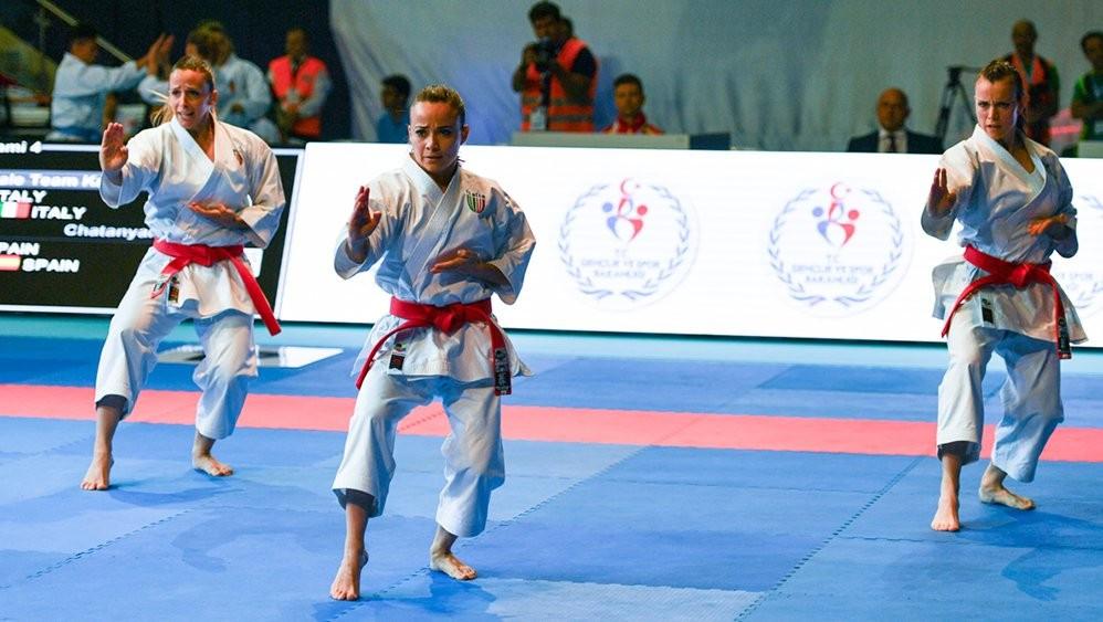 Bottaro leads Italy to women's team kata final at European Karate Championships