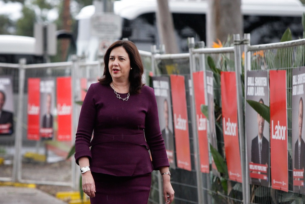 Queensland Premier Annastacia Palaszczuk has claimed talk of an Olympic bid is premature ©Getty images