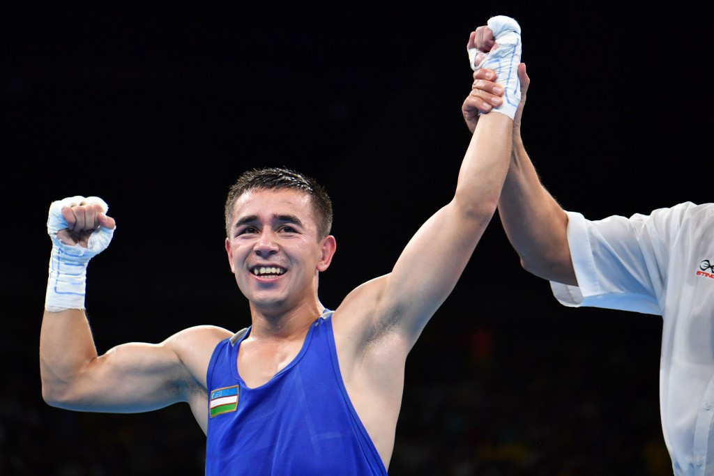 Olympic champion Dusmatov into final at Asian Boxing Championships