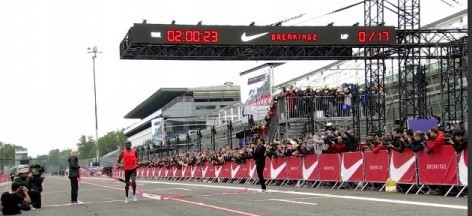Kipchoge misses sub two-hour marathon by 26 seconds as Nike's Breaking2 almost makes it