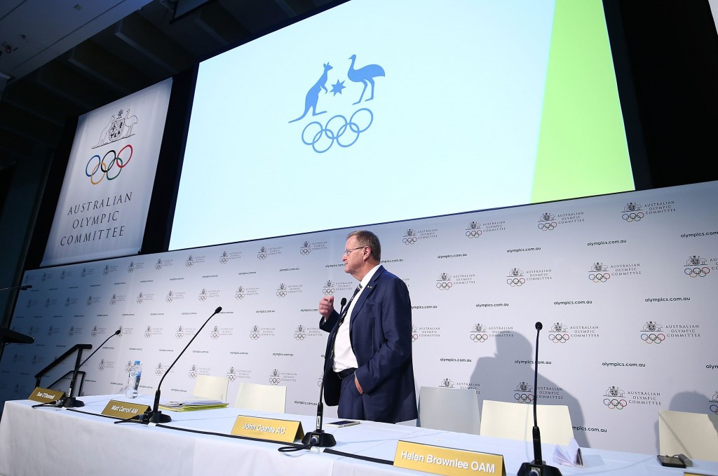 Newly re-elected AOC President John Coates is part of an IOC Working Group assessing the possibility of a joint awarding of the 2024 and 2028 Olympic Games to Paris and Los Angeles ©Getty Images