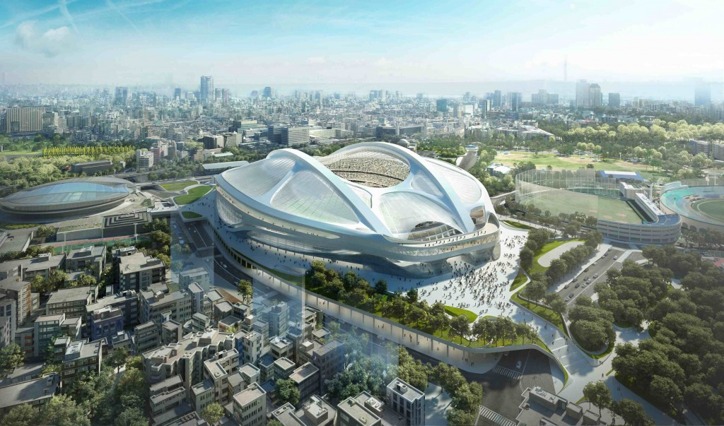 The initial design for the Tokyo 2020 Stadium was axed due to rising costs