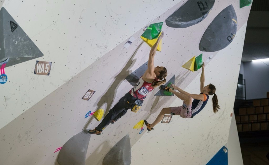 Competition will draw to a close tomorrow ©IFSC