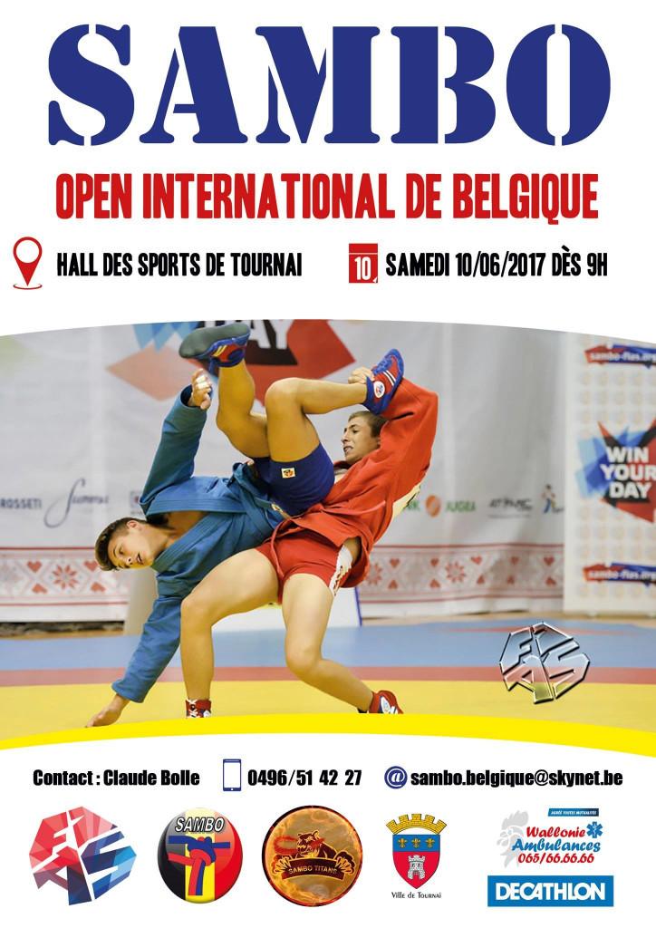 Entry officially open for third Belgian Sambo Open