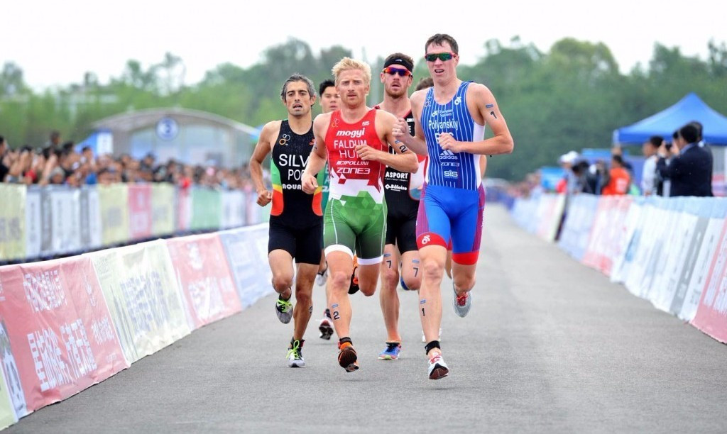 Polyanskiy into final of ITU World Cup event in China