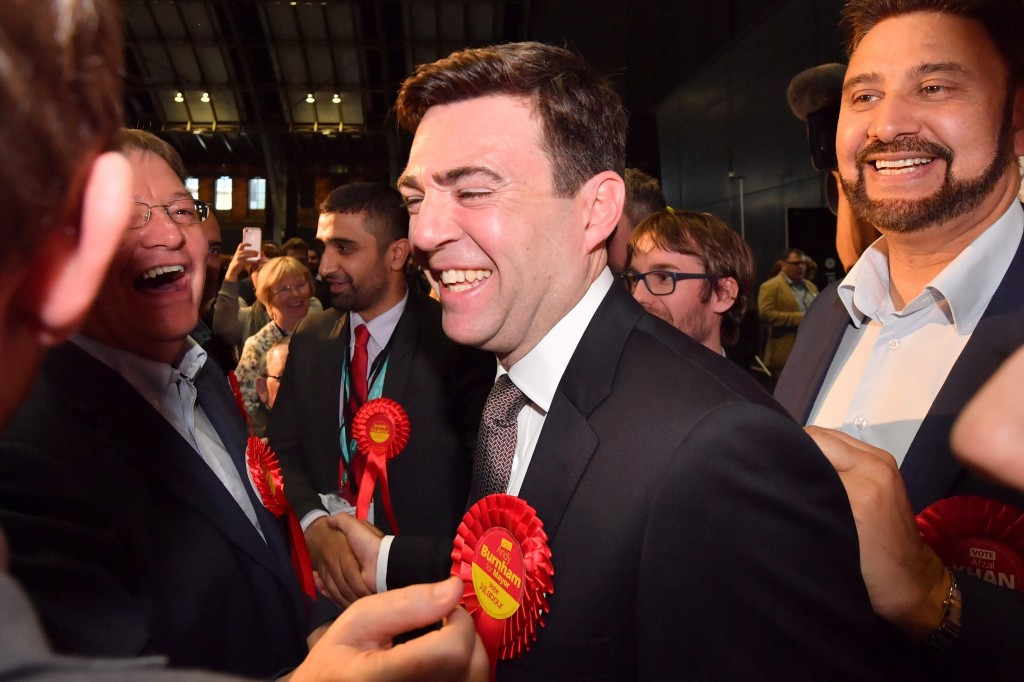 Andy Burnham, the new Mayor of Greater Manchester, had said during the election he wanted his city to host the 2022 Commonwealth Games on its own ©Getty Images