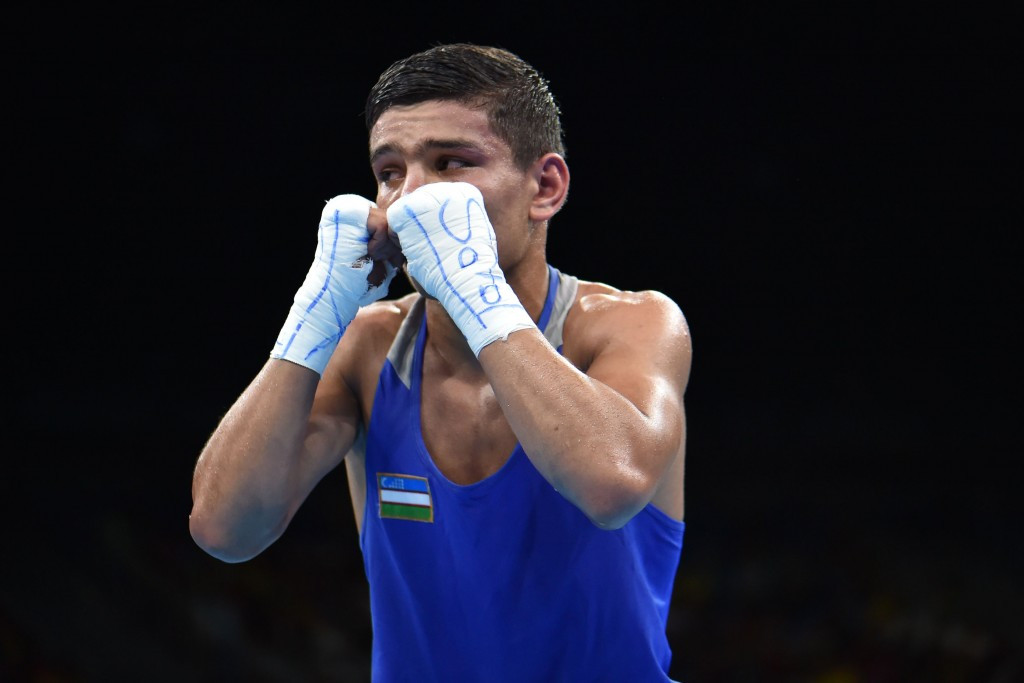 Murodjon Akhmadaliev claimed the bantamweight title ©Getty Images