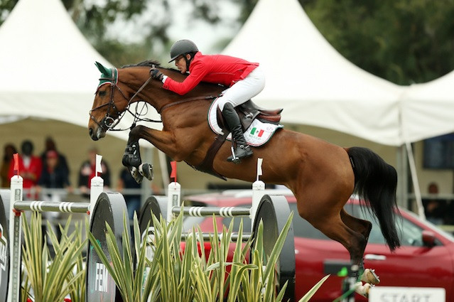 Mexico close gap on US in FEI Nations Cup Jumping