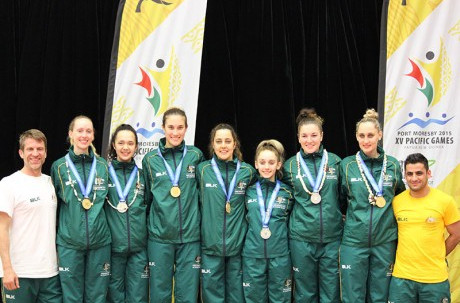 Australia enjoyed a commanding performance on the first day of taekwondo at Port Moresby 2015 as they claimed four gold medals ©AOC