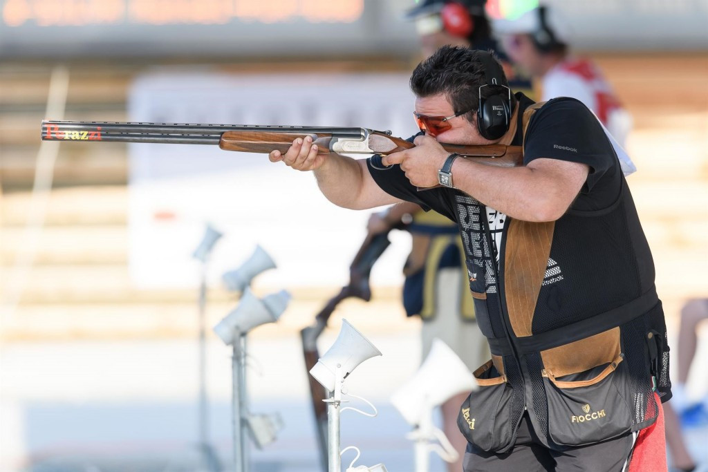 Bailon breaks world record en-route to trap title at ISSF World Cup