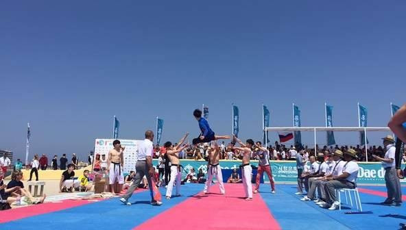 The Championships concluded at the Nautical Club of Rhodes today ©WTF