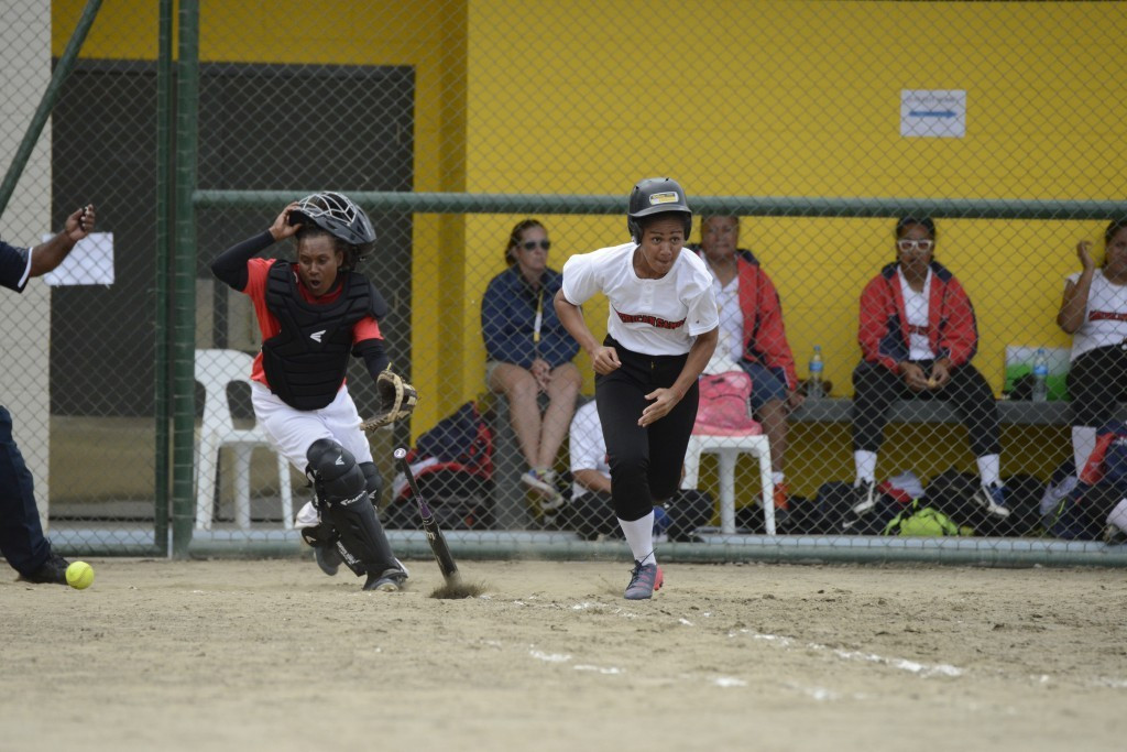 Papua New Guinea sealed the women's softball title with a game to spare with another comfortable win over American Samoa