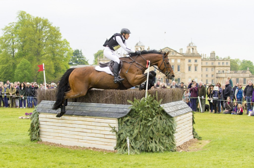 Klimke holds narrow lead over Jung after cross-country test at Badminton Horse Trials