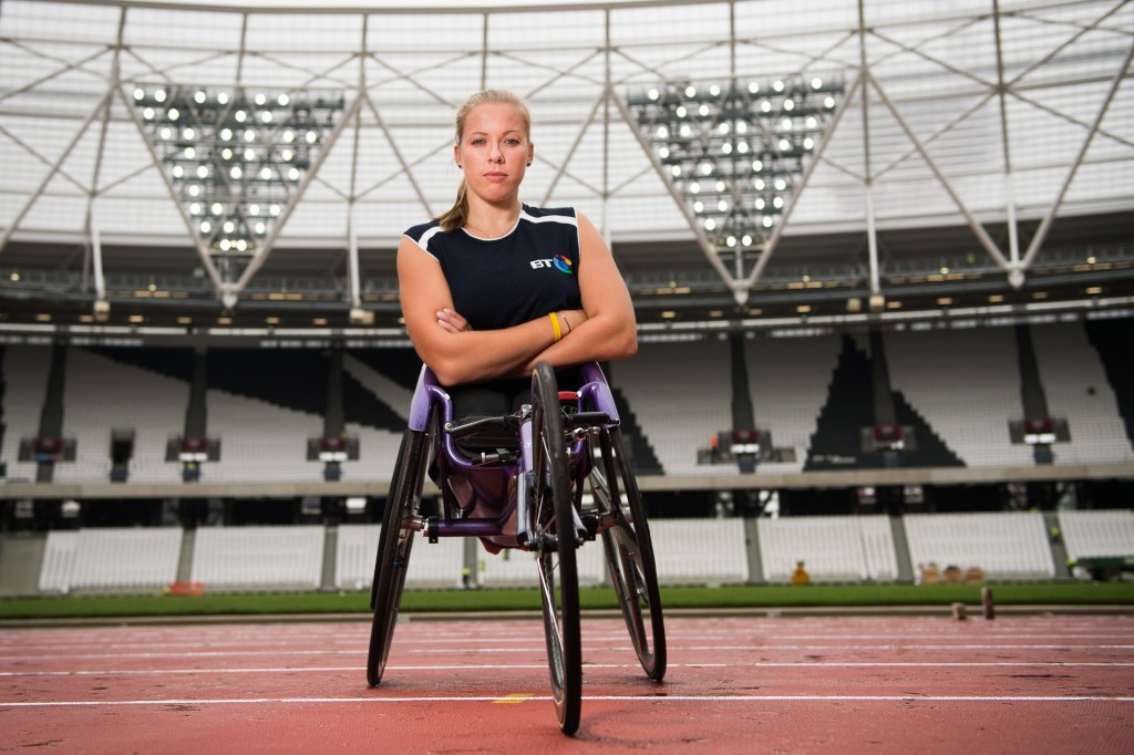 Cockcroft and Peacock excited to be involved in National Paralympic Day