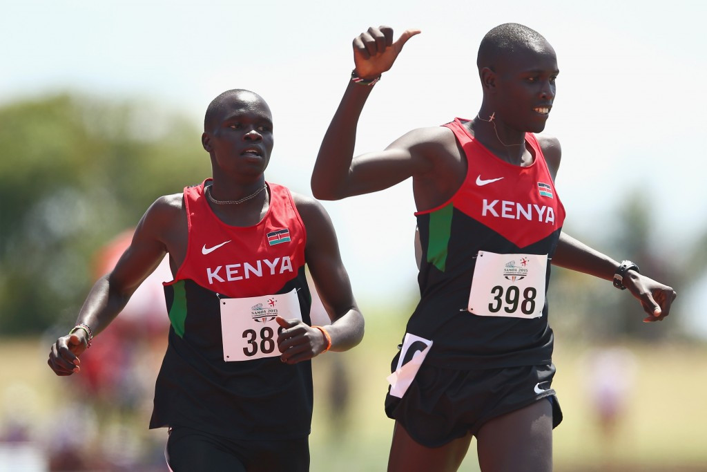 Kenyan athletes won seven medals at the last Commonwealth Youth Games in Apia in 2015, including four gold ©Getty Images