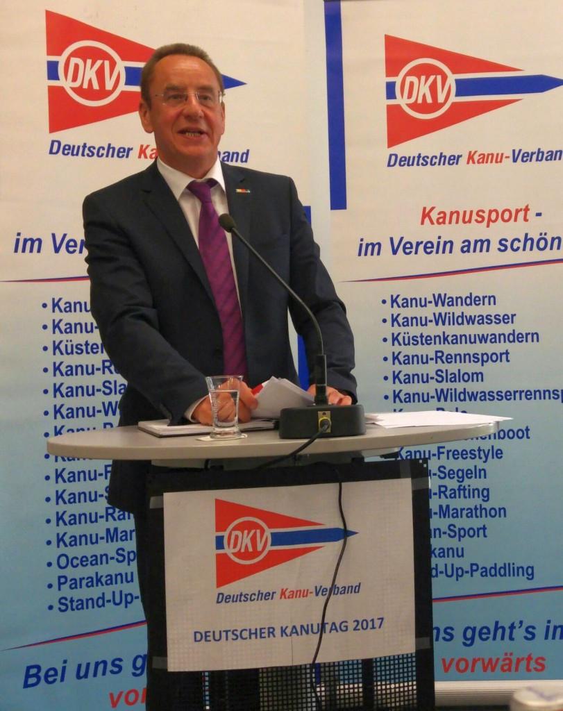 Konietzko re-elected as German Canoe Federation President