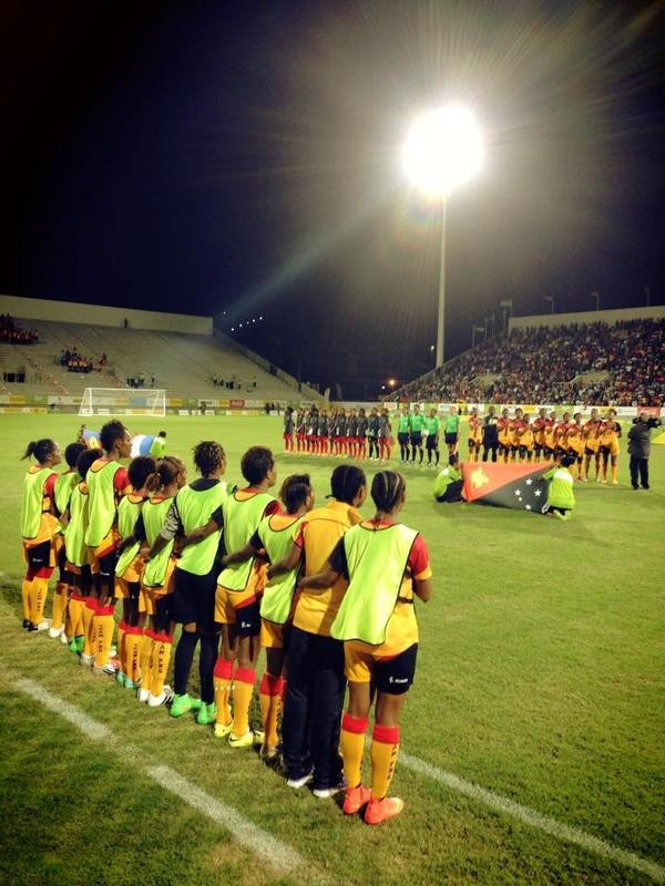 The final was a repeat of the 2011 Pacific Games gold medal match which was also won by Papua New Guinea ©StellaMagPNG/Twitter