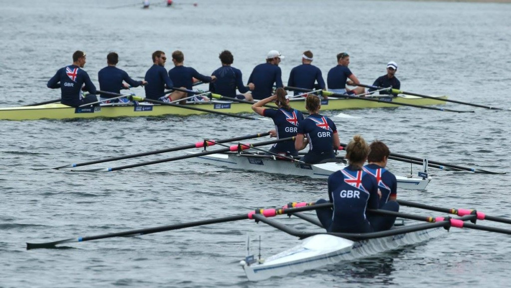Britain and Switzerland dominate gold medals at World Rowing Cup in Belgrade