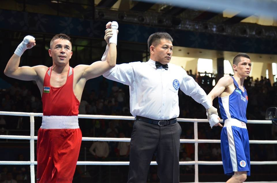 Olympic gold medallist Hasanboy Dusmatov starred for the host nation ©ASBC/Facebook