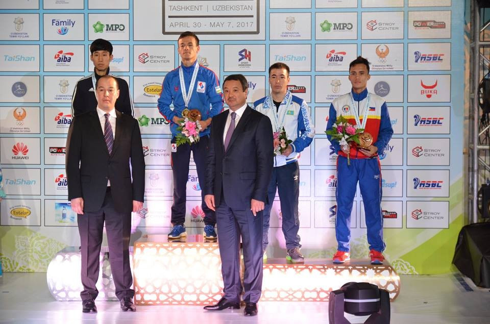 Uzbekistan won all five gold medals on the final day of the event in Tashkent ©ASBC/Facebook