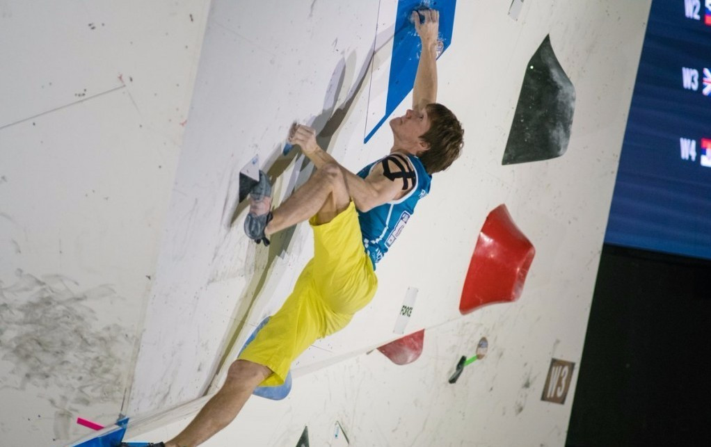 Russian Aleksei Rubtsov won gold in the men's event in Tokyo ©Eddie Fowke/IFSC