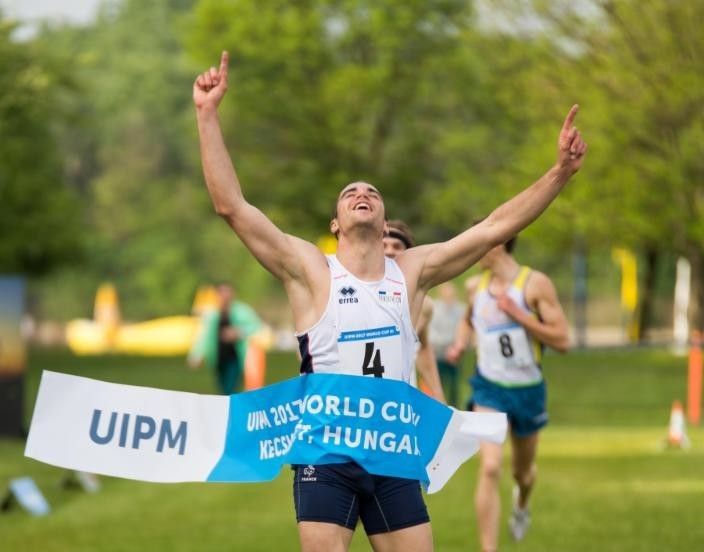 France's Prades wins men's title at UIPM World Cup