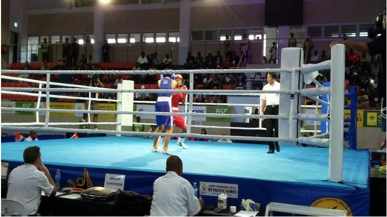 The women's boxing action continued today ©AIBA