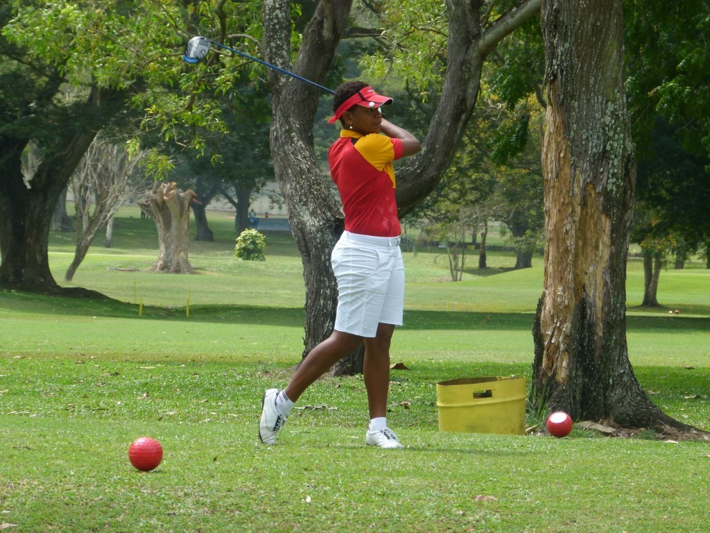 Papua New Guinea's club champion Kristine Seko has a commanding seven-shot lead going into the third day of the women's golf event ©Port Moresby 2015