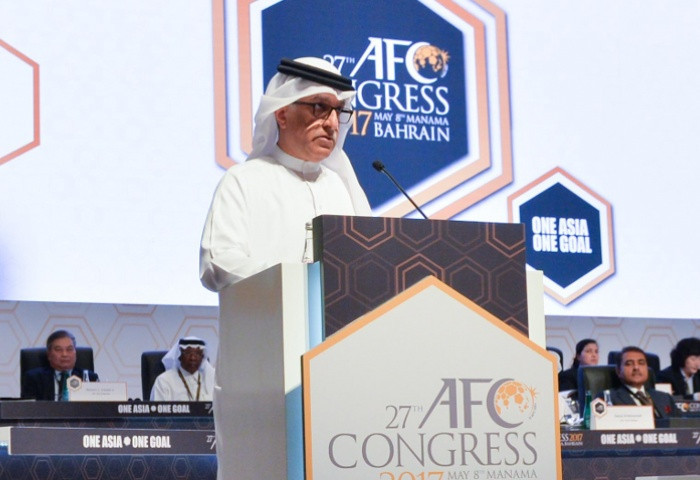 AFC President Shaikh Salman also addressed today's Congress ©AFC