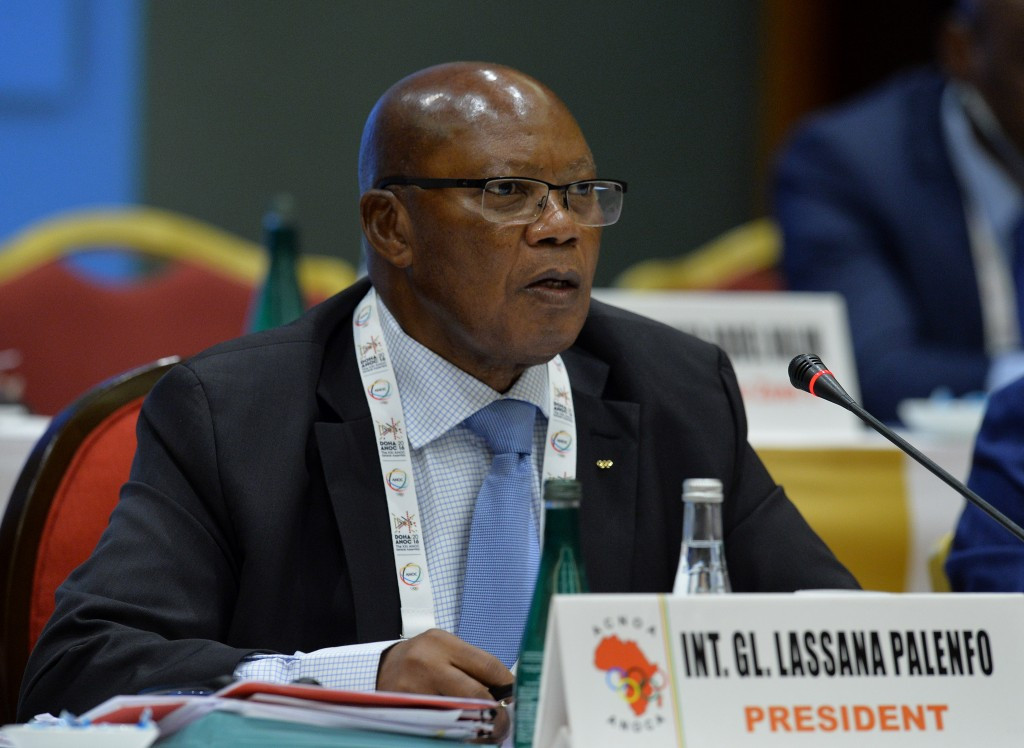 Lassana Palenfo is the current ANOCA President and is currently the sole remaining candidate following a controversial decision to debar Cameroon's Hamad Kalkaba Malboum from the election ©Getty Images