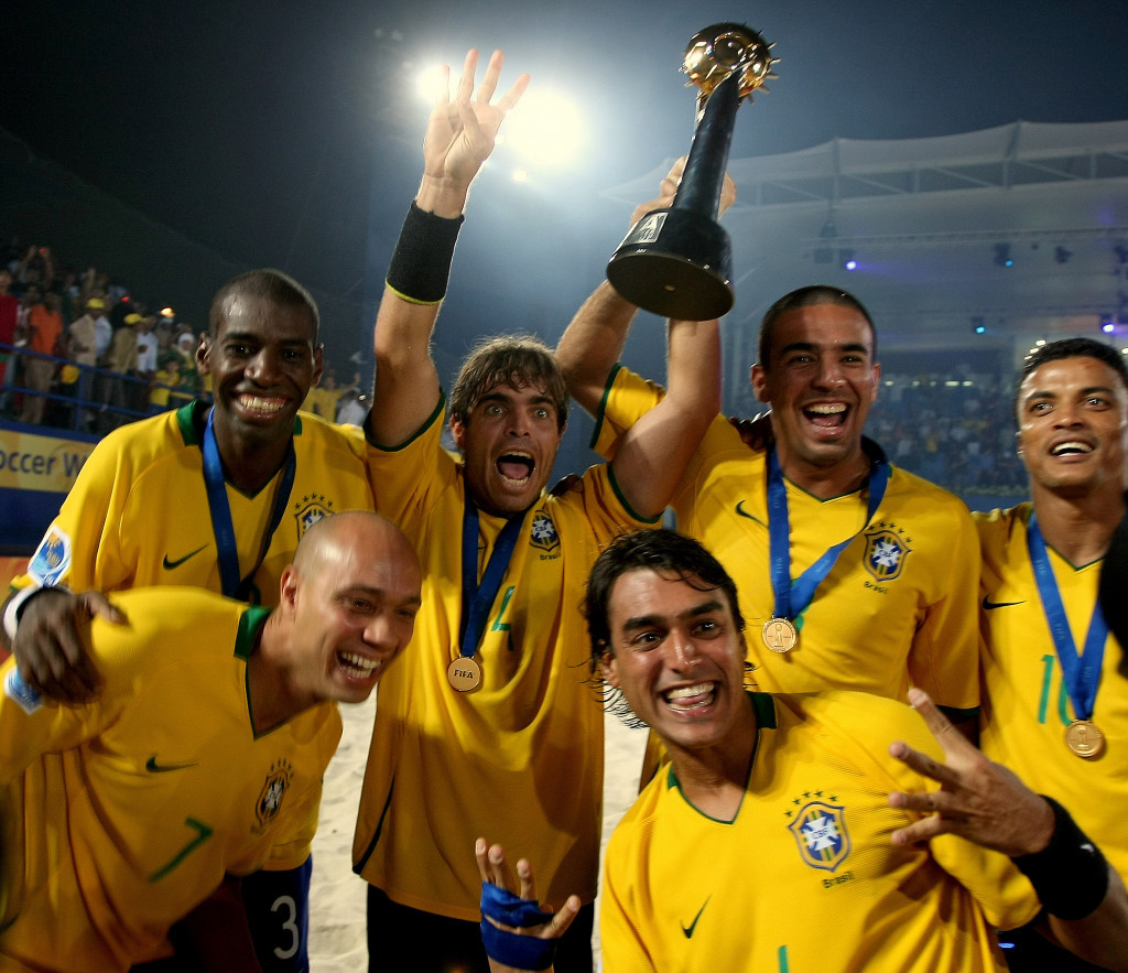 Brazil last won the FIFA Beach Soccer World Cup in 2009 ©Getty Images