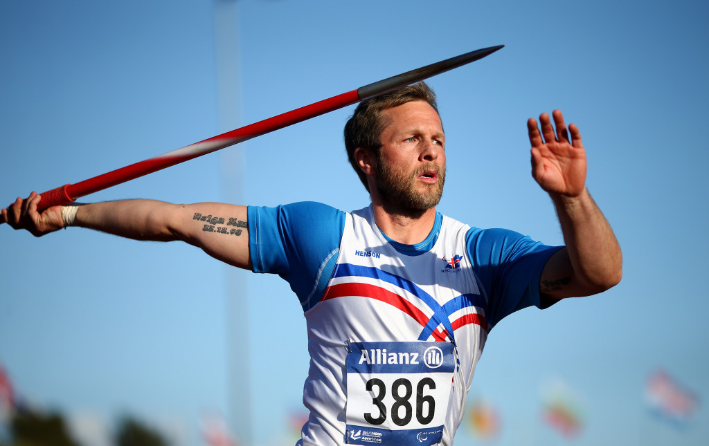 Sveinsson improves javelin world record at World Para Athletics Grand Prix