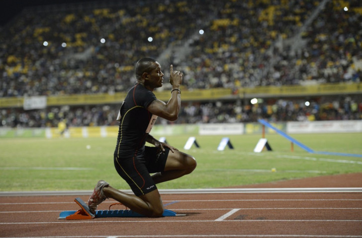 Home favourite Nelson Stone came second in the men's 200m before completing Papua New Guinea's success in the 4x400m