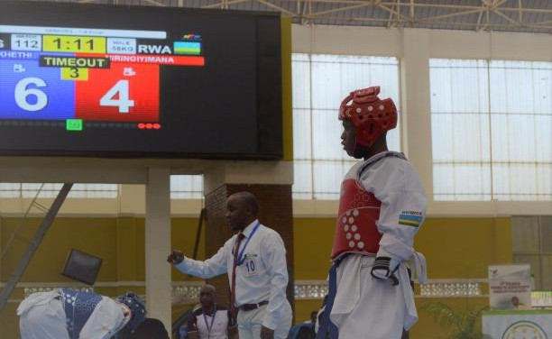 Taekwondo star Niringiyimana wins April's IPC Allianz Athlete of the Month prize